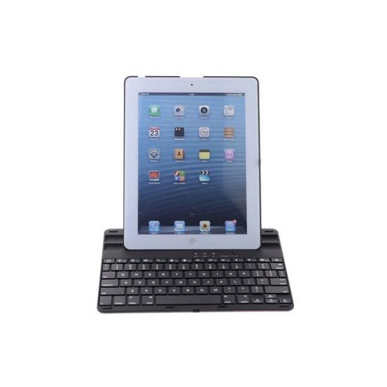 360° Roterande Plast Trådlös Blurtooth Tangentbord Fodral iPad 2 3 4 2021