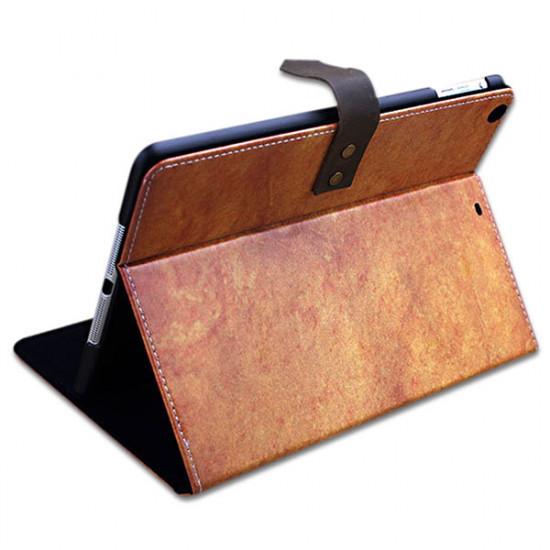Brittisk Vintagestil PU Läder Beskyddare Fodral Skydd för iPad Air 2021