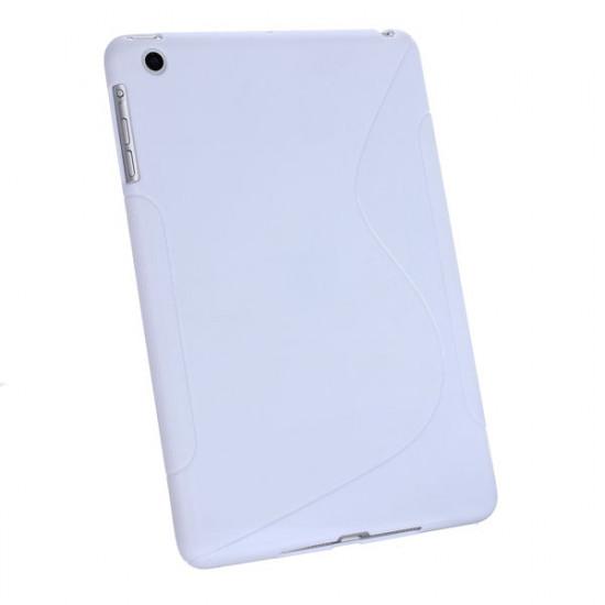 Cool Flexibel Mjukt TPU S Line Design Fodral för iPad Mini 2021