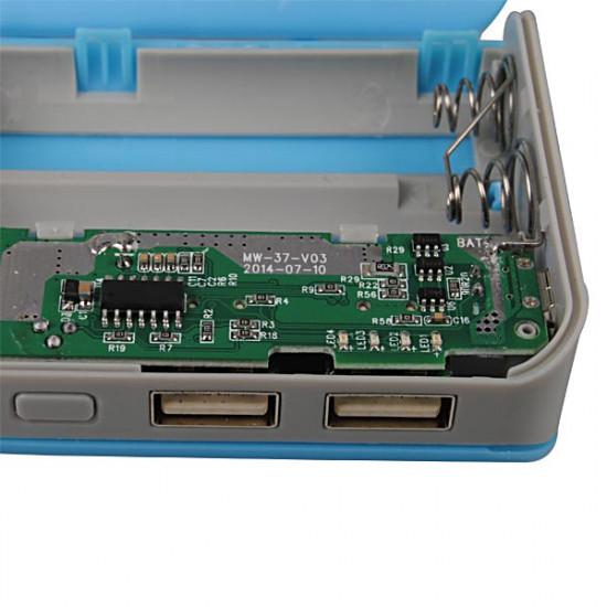 DIY 5 * 18650 PowerBank Batteriladdare Box för iPhone Smartphone 2021