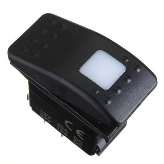 12 / 24V LED-belysning Rocker SPST Switch Båt Dash ON-OFF Road CE 2021