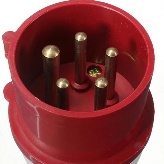 16Amp 5Pin Industrial Plug Wall Mount Socket Waterproof IP44 16A 2021