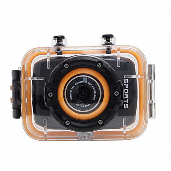 1080P Bilkamera DVR W108 Sport Kamera Optager Dash Cam HDMI Novatek 2021