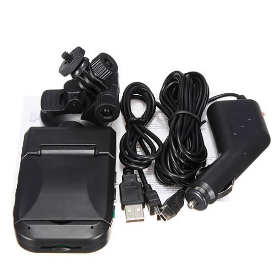 """2.5"""" LCD HD Bärbar Bil Instrumentpanel DVR USB Videoinspelning Kamera 2021"""