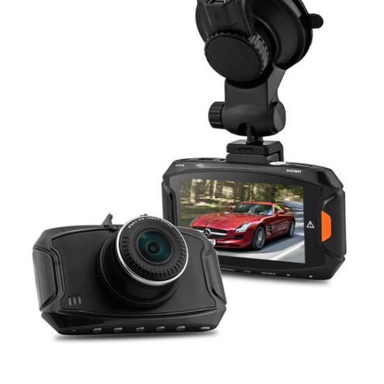 "Ambarella A7LA50 Full HD 1296P GS90A 2,7"" Bil DVR-inspelare med GPS 2021"
