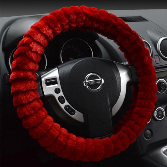 Auto Lenkradbezug Soft Imitation Wolle Warm Universelle 2021