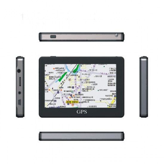 5 Zoll Auto GPS Navigation TFT LCD Touch Screen von Windows CE6.0 System 2021