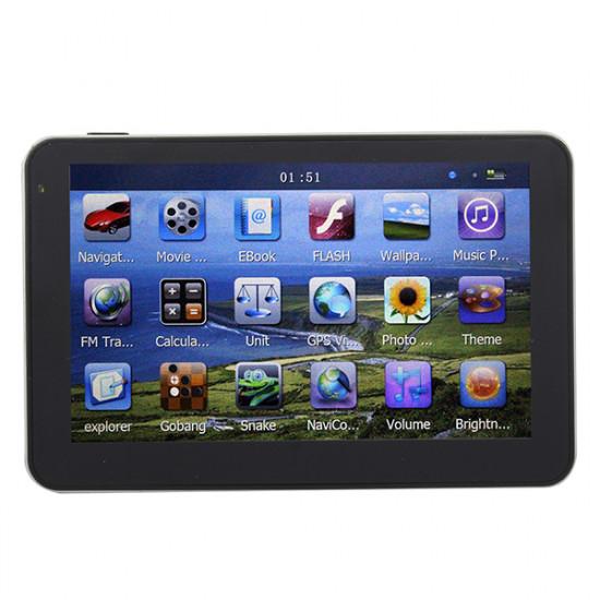 5 Zoll HD Touchscreen GPS Navigation YL 750 MTK FM 4GB 2021