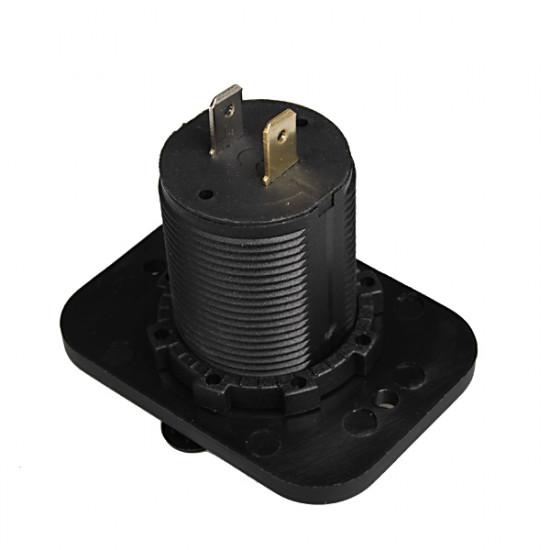 12V Bil Ændring USB-interface Konverter Dual USB Biloplader 2021