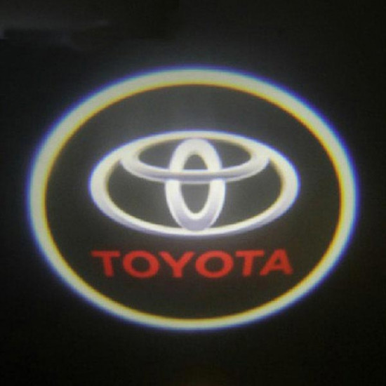 4 X Laser Logo LED Door Ghost Shadow Welcome Lights for Toyota 2021