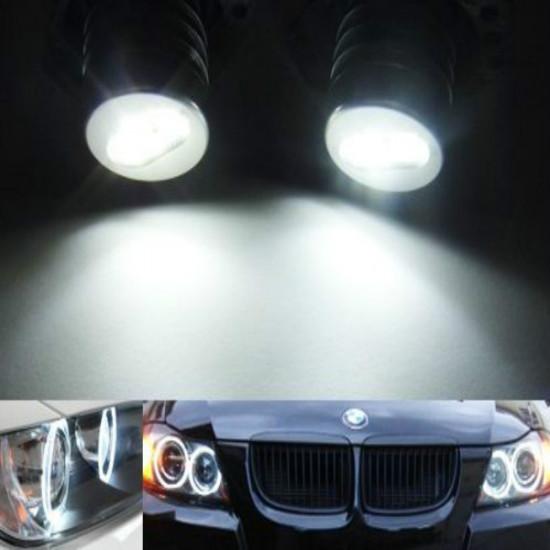 BMW E90 E91 325i 328i 335i 4D 05-09 Angel Eyes LED Marker Vit 6W 2021