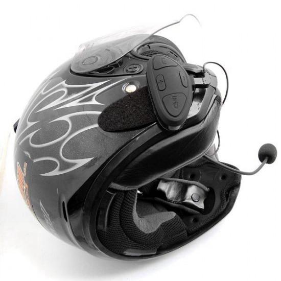 1 Paar Motorrad Helm Intercom Headset mit Bluetooth Funktion BHM1 2021