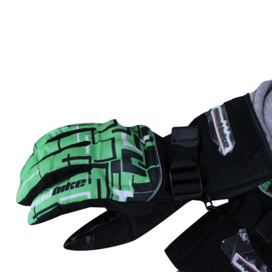 Motorcykel Fullständig Finger Handskar Cykel Varm Vindtät Handskar 2021