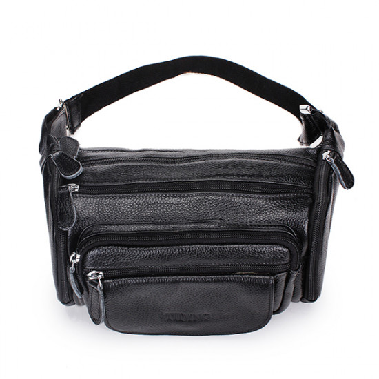 Genuine Leather Cowhide Men Waist Sports Bag Outdoor Travel Belt Wallet 2021