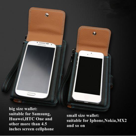 Leather Bag For Men With Mobile Holder Wallet with Card Holder Pocket 2021