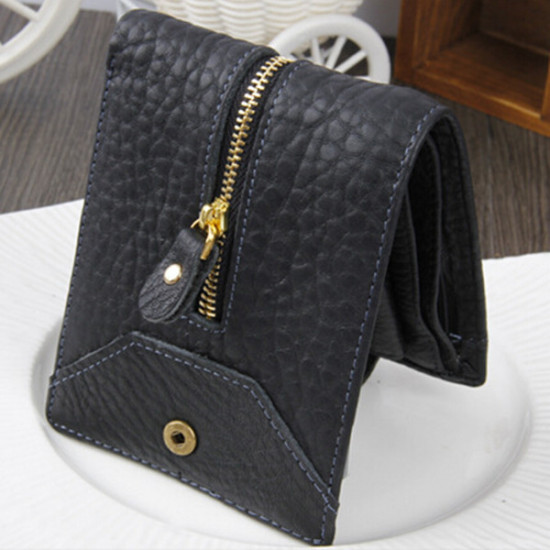 Men Leather  Pockets Wallet Money Purse ID Credit Card Clutch 2021