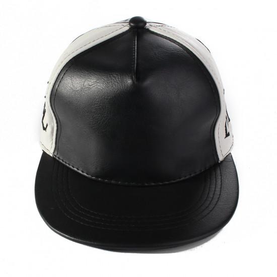 88 Broderi PU Snapback Baseball Cap Kasket Justerbar Hip Hop Hat 2021