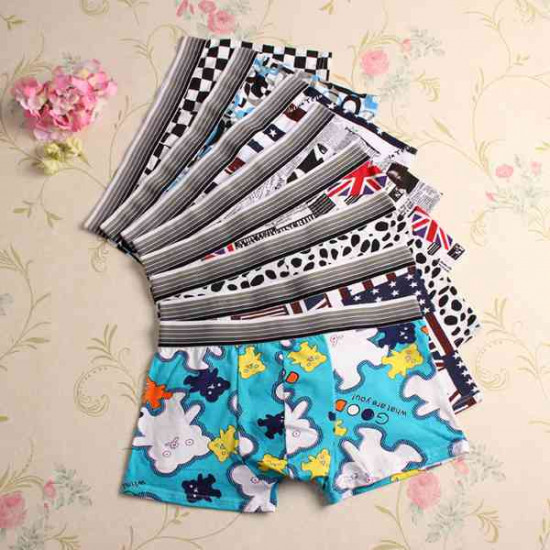 9 Colors Sexy Cotton Underwear Mens Casual Fashion Briefs 2021