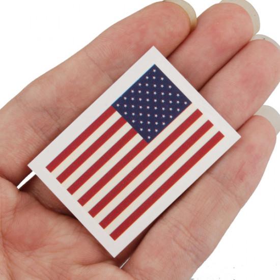 American Flag Mønster Vandtæt Tattoo Stickers 2021