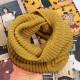 Männer Frauen Strickschlauch Crochet Wrap Snood mit Wasserfallausschnitt Schal Circle Scarf 2021