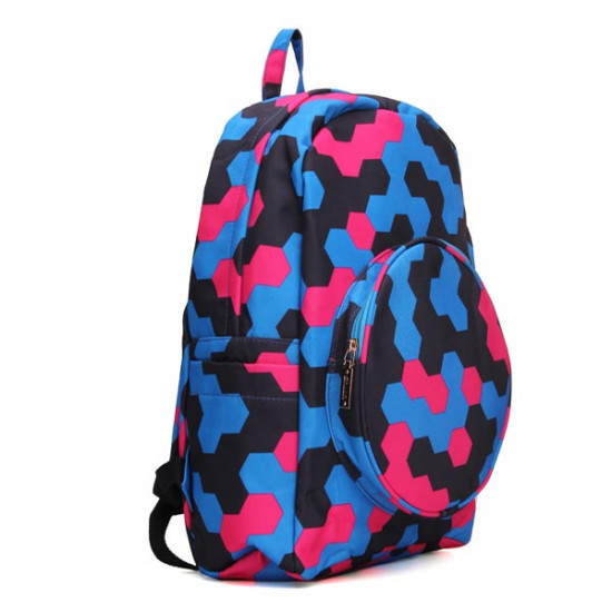 Boys/Girls Nylon Schoolbag Backpack 2021