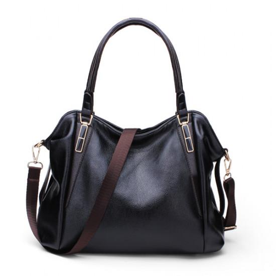 Lychee Emboss Women Handbag PU Leather Shoulder Bags Messenger Bags 2021