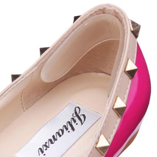 1 Paar Silikon Gel Ferse Kissen Fußpflege Schuh Auflagen 2021