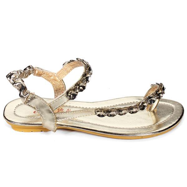 buy glitter rhinestone flip flops flat lady sandals. Black Bedroom Furniture Sets. Home Design Ideas