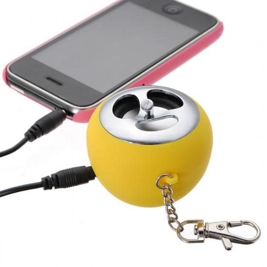 3.5 Mm MINI USB Bærbar Højttaler LED Lys til iPod Mp3 Mp4 Pc 2021