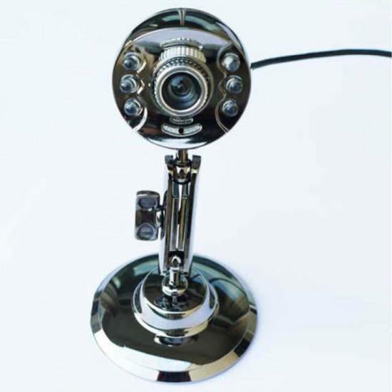 Snowwolf Z7 5 Megapixel 6 LED USB Webbkamera med Mikrofon Oberoende Av Varandra 2021