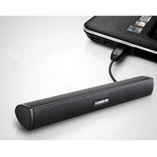iKANOO N12 Bærbar Bærbar USB Sound Bar Stick Højttalere 2021