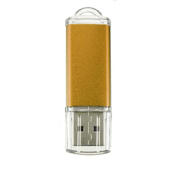 10 x 128MB USB 2.0 Flash Drive Candy Golden Memory Storage U Disk 2021