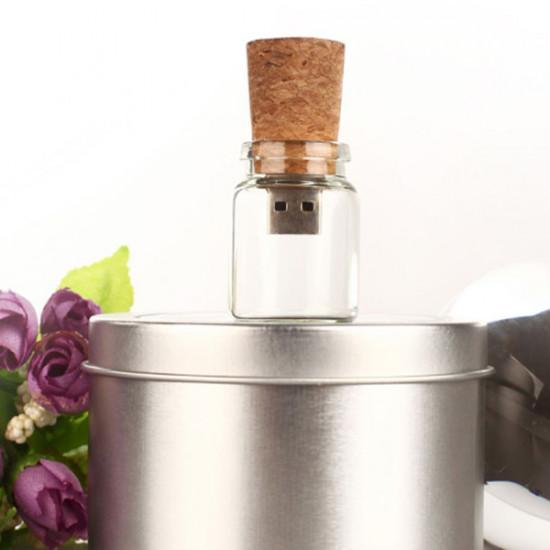 16G Wish Bottle Model Stick Flash Drive USB 2.0 Memory U Disk 2021