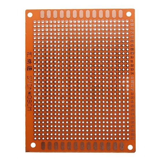 10Pcs 7x9cm PCB Prototyping Printed Circuit Board Prototype Breadboard 2021