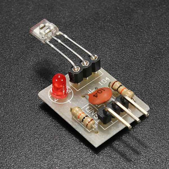 2st Laser Mottagare Icke-modulator Tub Givarmodul för Arduino 2021