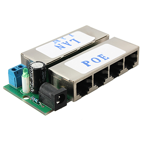 Buy port poe power over ethernet injector module for ip