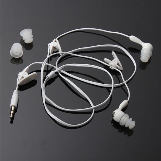 3.5MM Swimming Waterproof Earphone For Media Player FM Radio MP3 iPod 2021