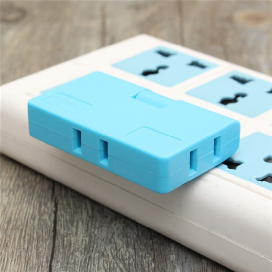 3in1 Outlet Power Converter Splitter Travel Rotate Charger Socket Wall Adapter US 2021