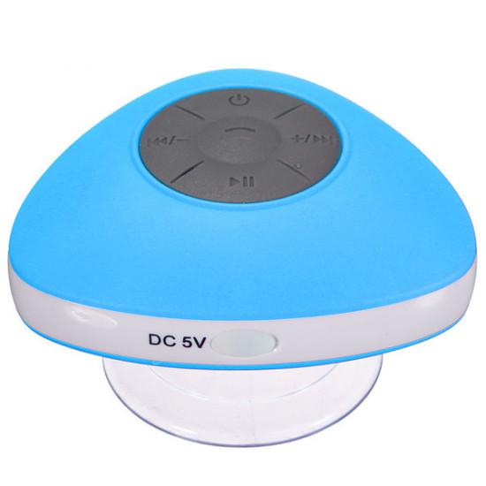 Mini Bärbar Vattentät Trådlös Bluetooth Dusch Högtalare Mic Handsfree Sug 2021