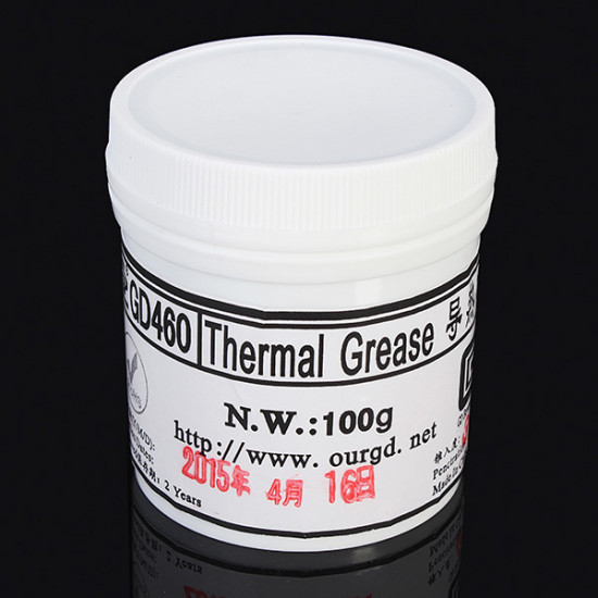 100g Silver Thermal Paste Grease Compound Silicone For GPU CPU Heatsink 2021