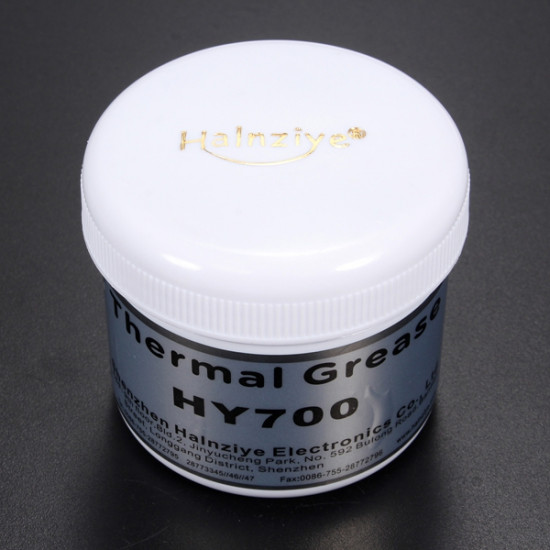 100g Silver Thermal Paste Grease Compound Silicone For PC CPU Heatsink 2021