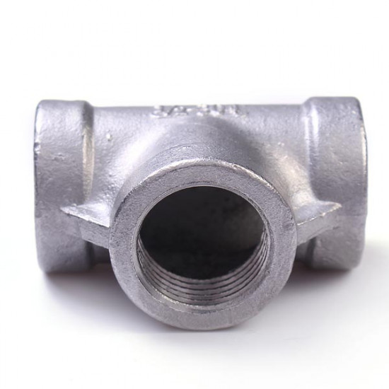 1/2 inch 304 Stainless Steel Pipe Fitting Threaded Biodiesel 3 Way 2021