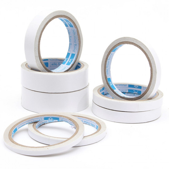 1 Roll 10M Super Strong Double Sided Adhesive Tape Office Stationery 2021