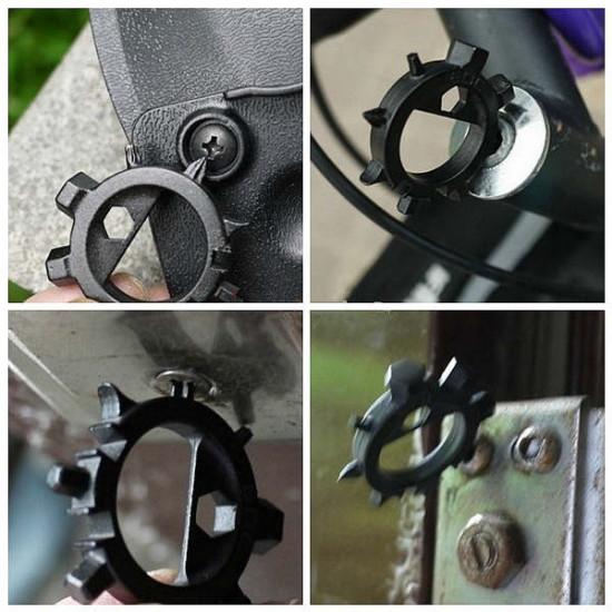 EDC 10 in 1 Multi Screwdriver Bicycle Repair Tool 2021