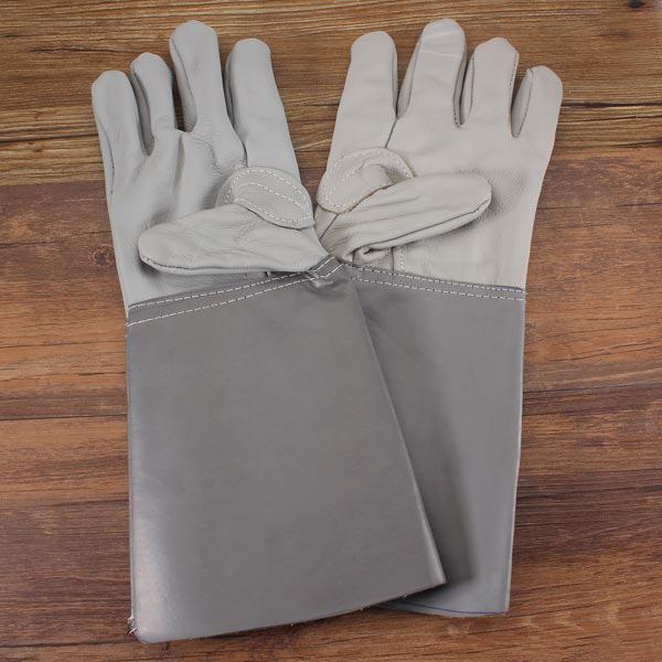 fetish laeder gummi gummi handsker.