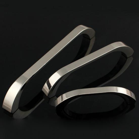 Zink Alloy Hantera Modern Minimalist Solid Garderob Låda Handtag 2021