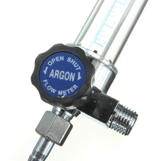 1/4PT 0.15 MPA Thread 7mm Barb Argon Gas Flow Meter Welding Regulator 2021