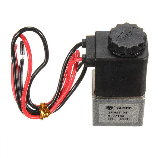 1/8inch 12VDC 2 Way Normally Closed Electric Solenoid Air Valve 2021