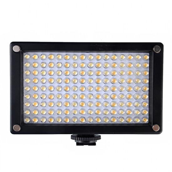 144AS LED Videokamera Lampa Bi-färgtemperatur 2354lux 2021