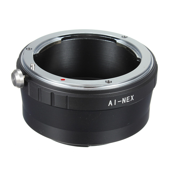 how to connect nikor lenses to sony camera